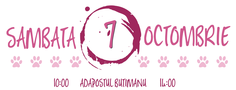 Ziua Animalelor Sambata 7 Octombrie la Adapostul Butimanu